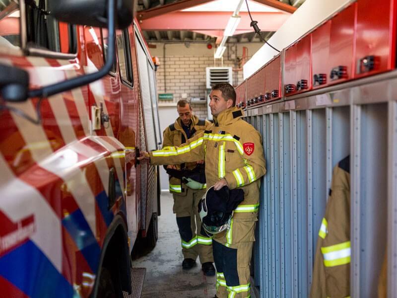 brandweerpersoneel inhuren